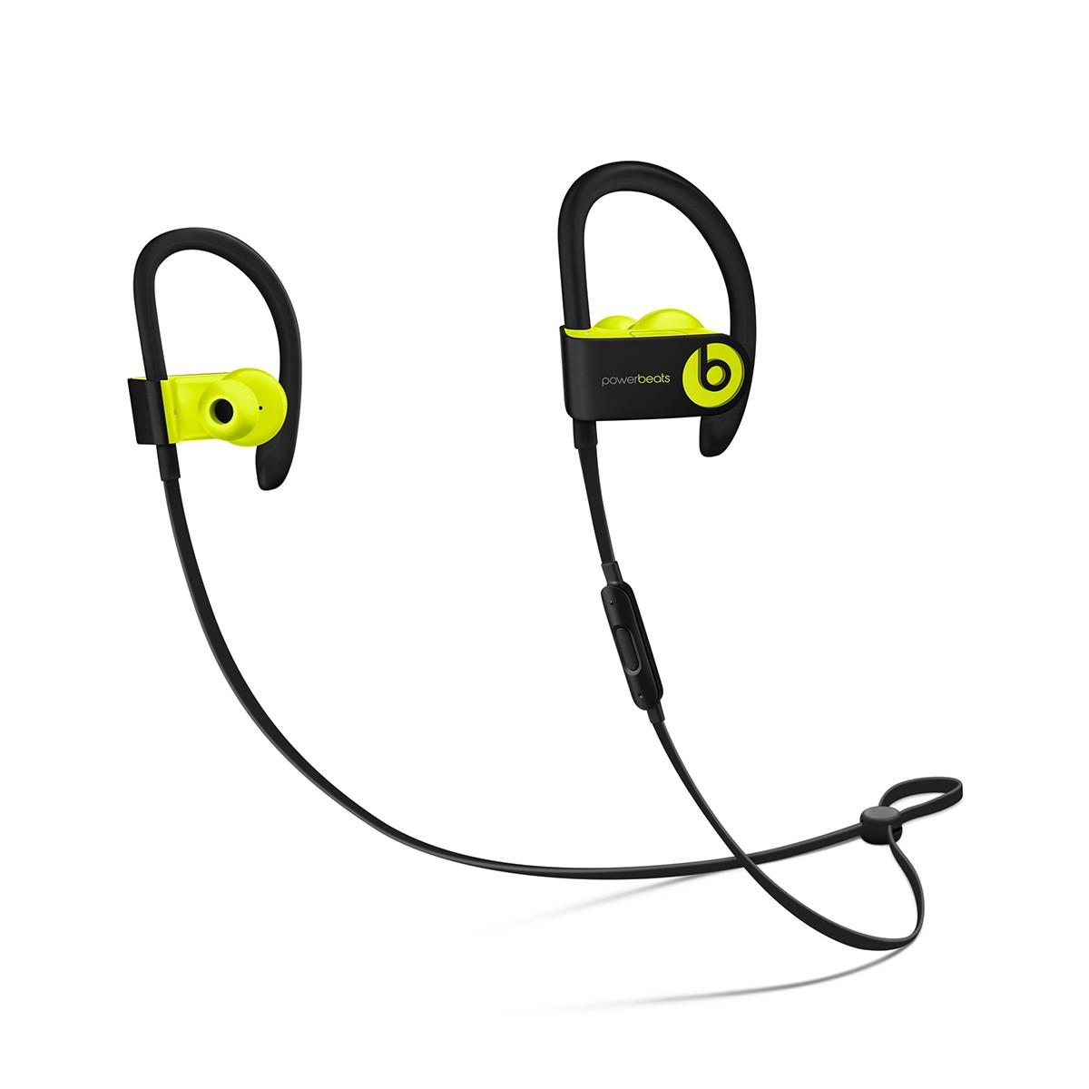 Beats Powerbeats3 Wireless bezdrátová sluchátka do uší žlutá