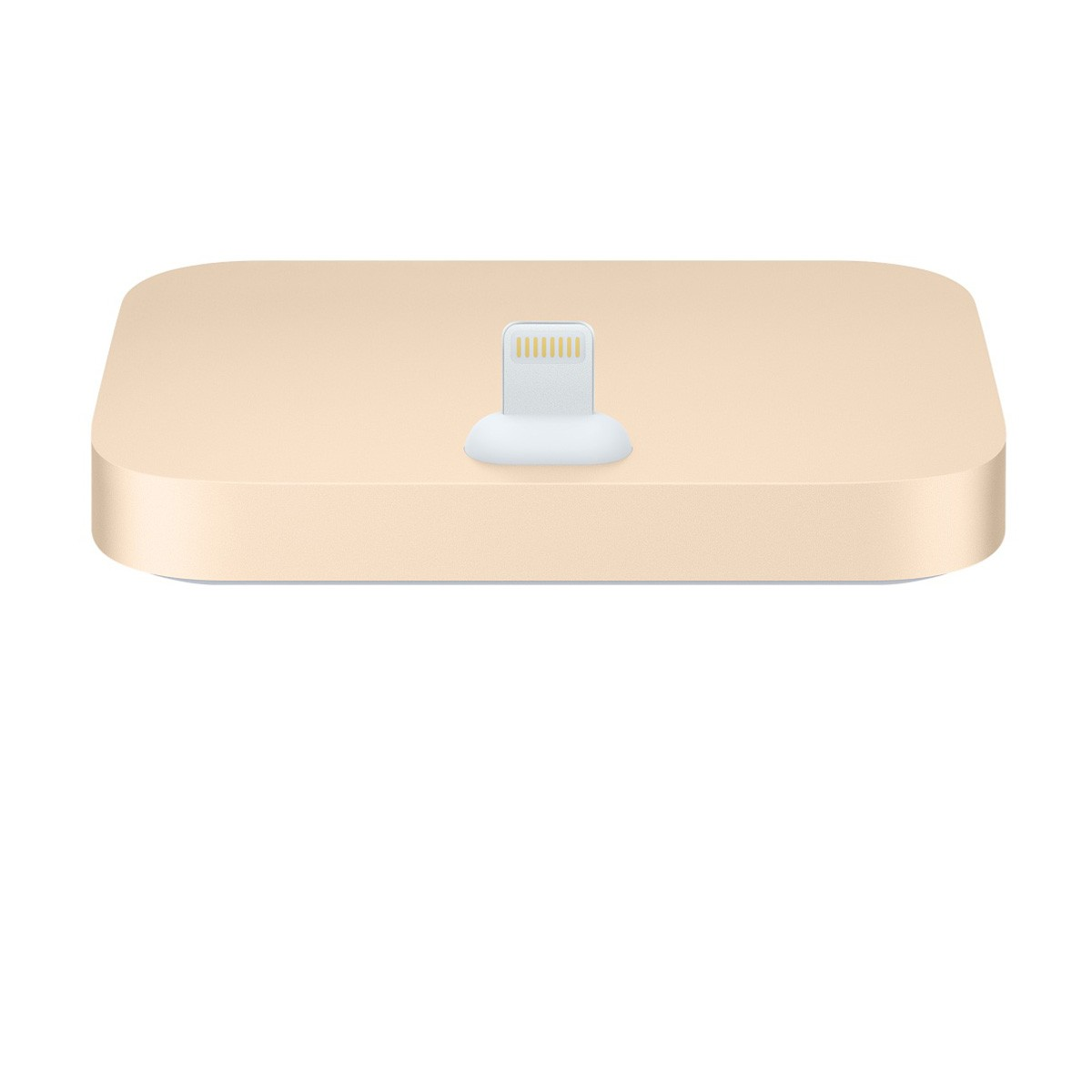 Dokovací stanice Apple iPhone Lightning Dock zlatý