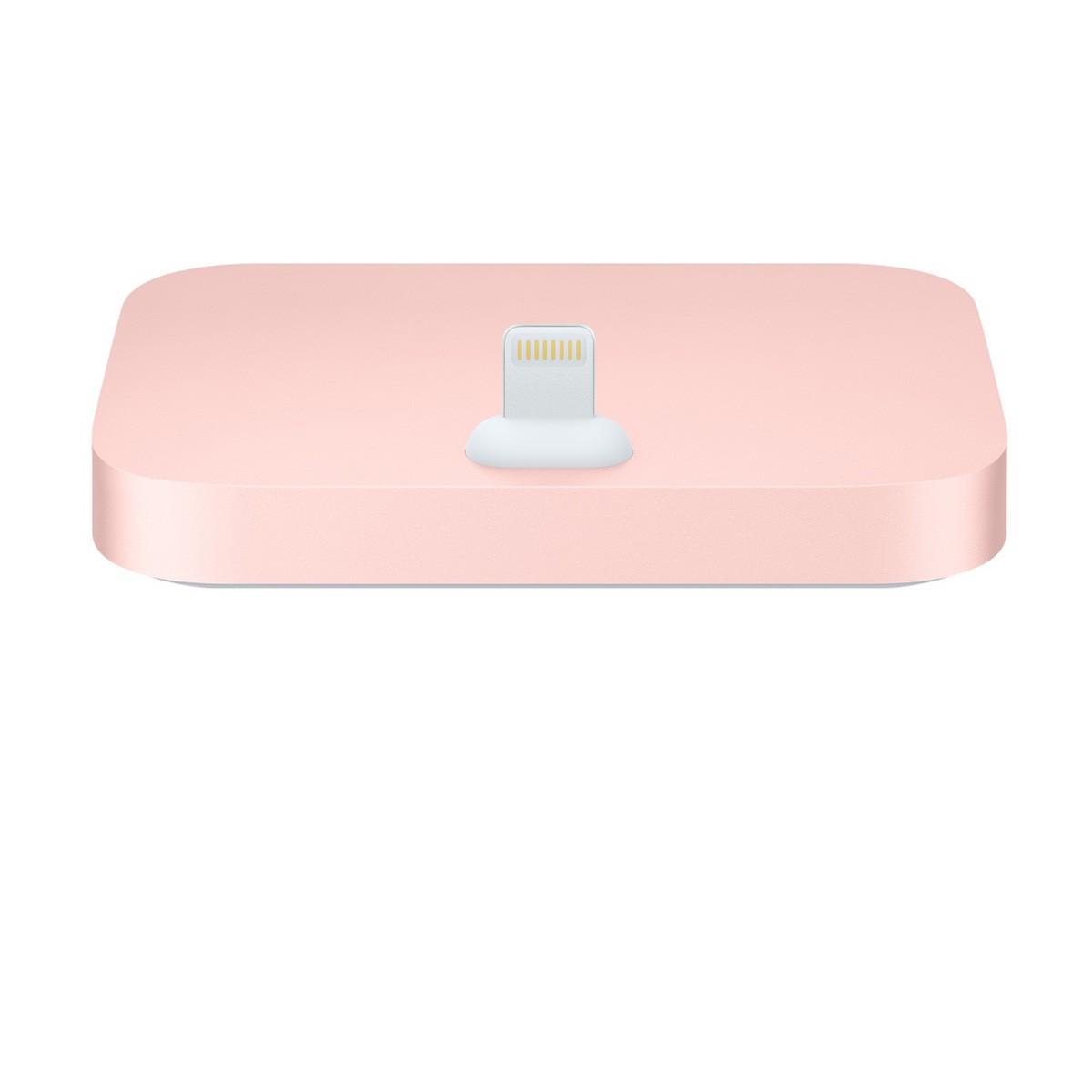 Dokovací stanice Apple iPhone Lightning Dock růžově zlatý