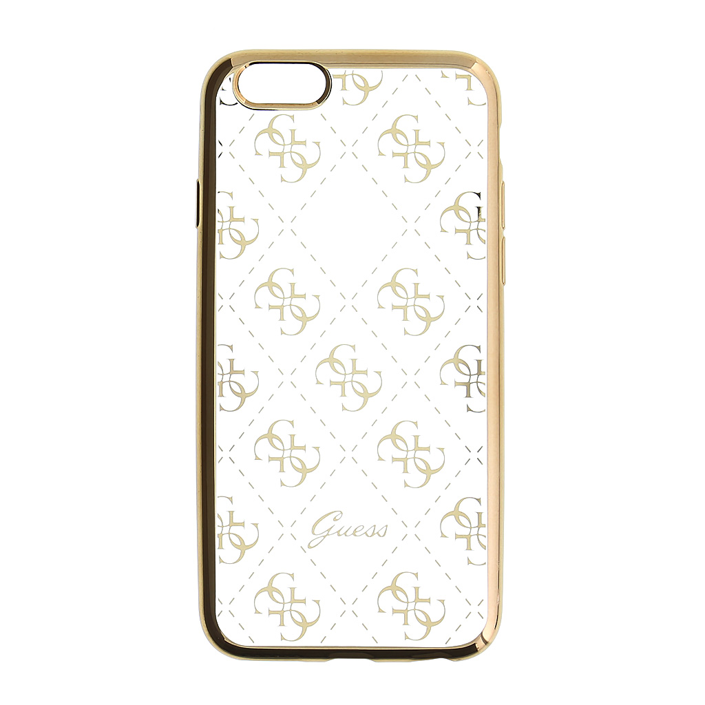 Kryt Guess 4G TPU Gold pro iPhone 5/5S/SE