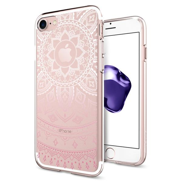 Kryt Spigen Liquid Crystal, shine pink - iPhone 7