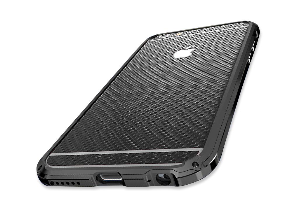 Fólie Luphie Carbon pro iPhone 6/6S (zadní) Barva: Černý