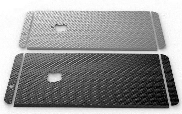 Fólie Luphie Carbon pro iPhone 6/6S (zadní) Barva: Space Grey