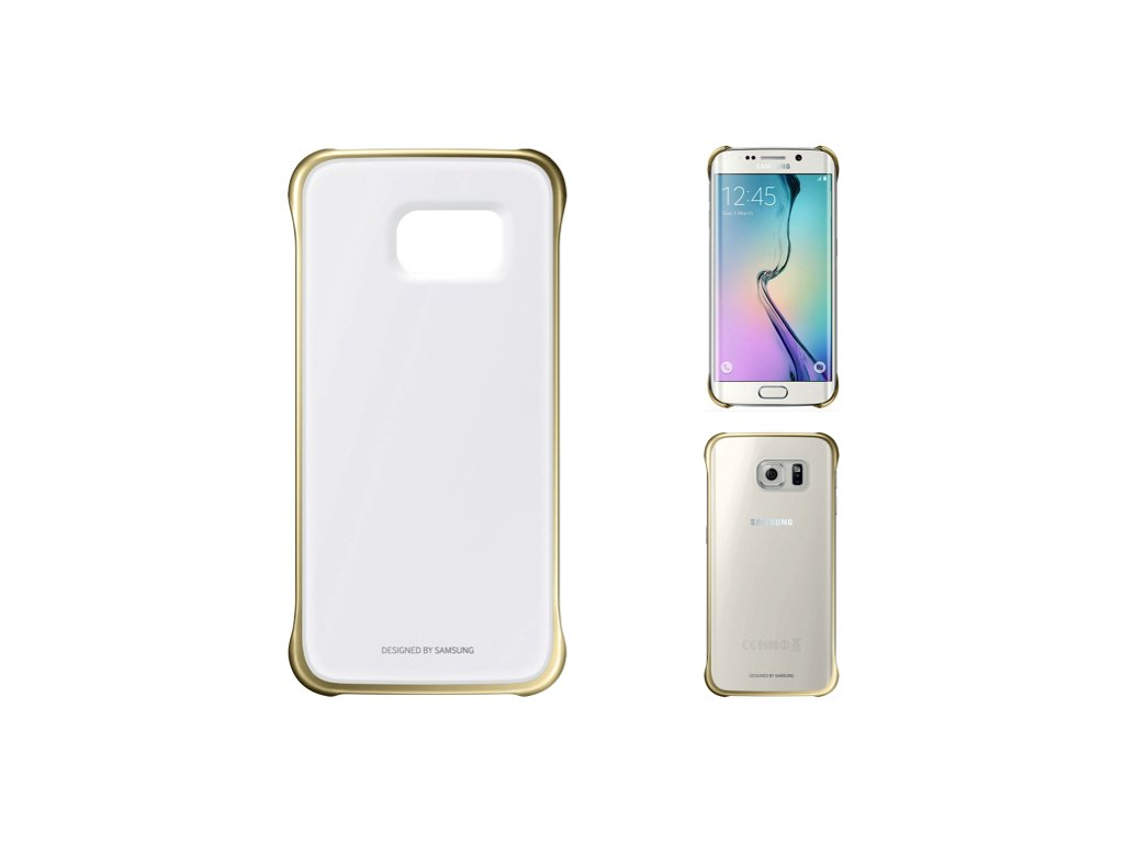 Zadní kryt Samsung Clear Gold pro G920 Samsung Galaxy S6 (Bulk)