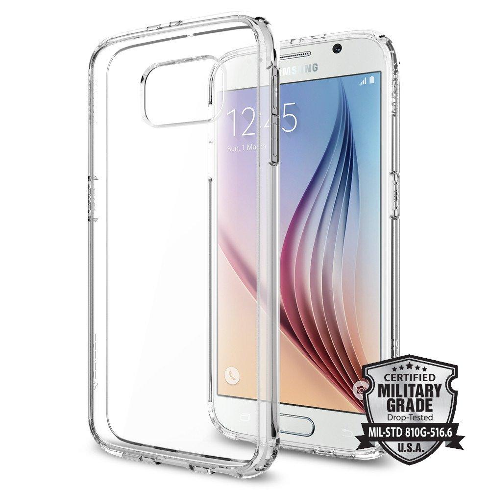 Spigen Ultra Hybrid, crystal clear - Galaxy S6