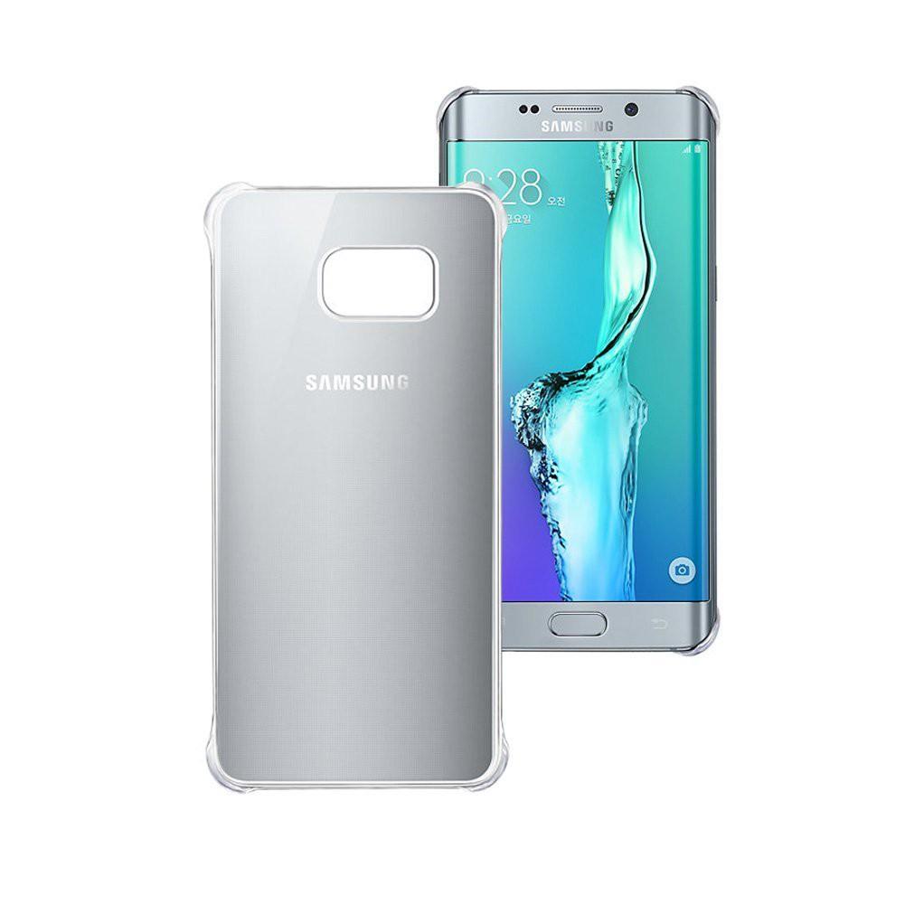 Zadní kryt Samsung Glossy Silver pro G928 Galaxy S6 Edge + (EU Blister)