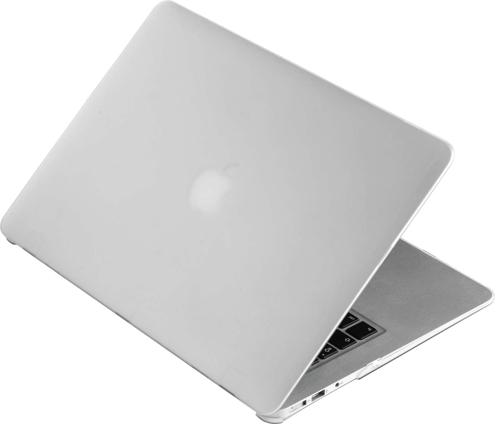 "eSTUFF MacBook Air 13"" Transparent Frosted – kryt"