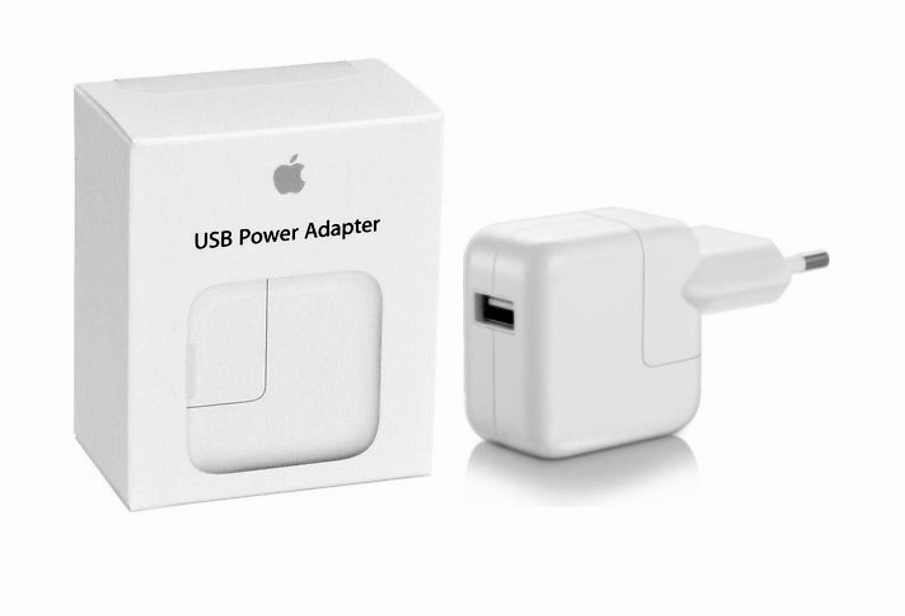 Apple originální USB nabíječka / síťový adaptér 12W (MD836zm/a)