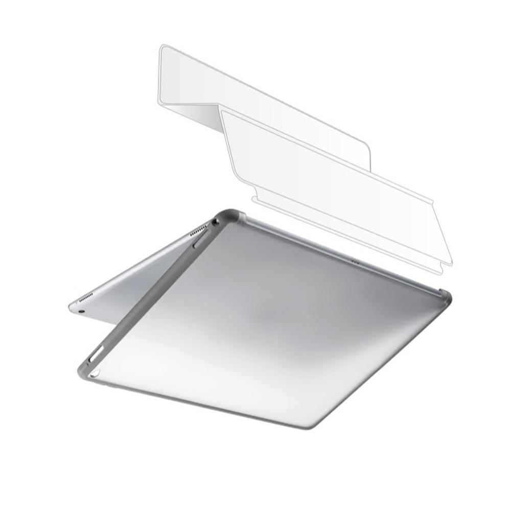 """Dvojitý zadní kryt Cellularline DUAL BACK pro iPad Pro 12,9"""", kompatibilní s originálním příslušenstvím, šedý"""