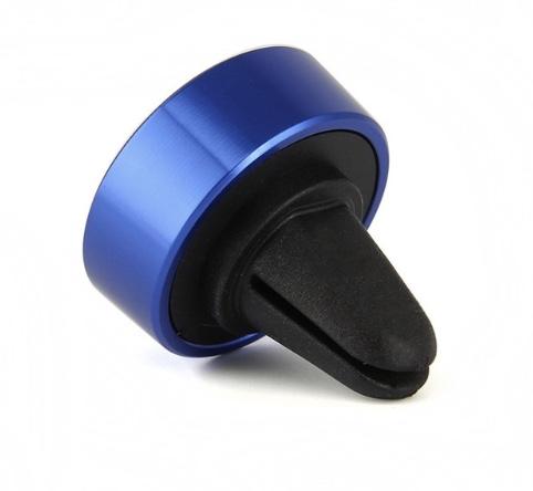 Magnetický držák do auta TOP do mřížky ventilace pro mobilní telefony Barva: Modrý