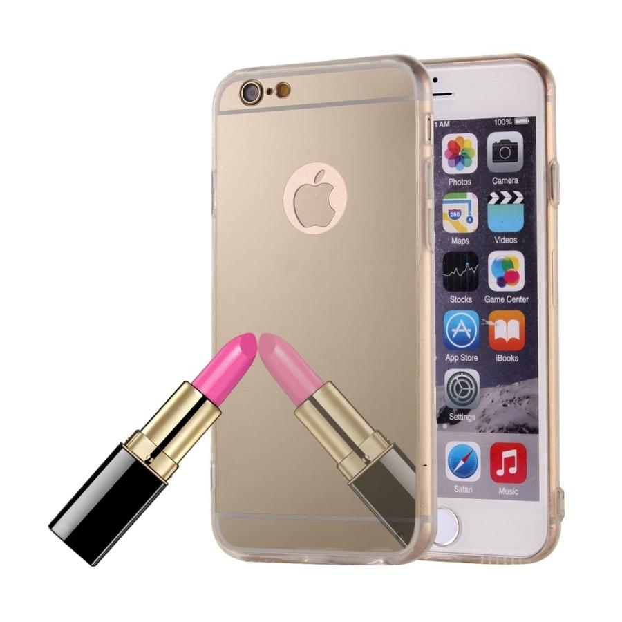 Luxusní kryt pro iPhone 5 / 5S / SE - Mirrori Barva: Zlatý