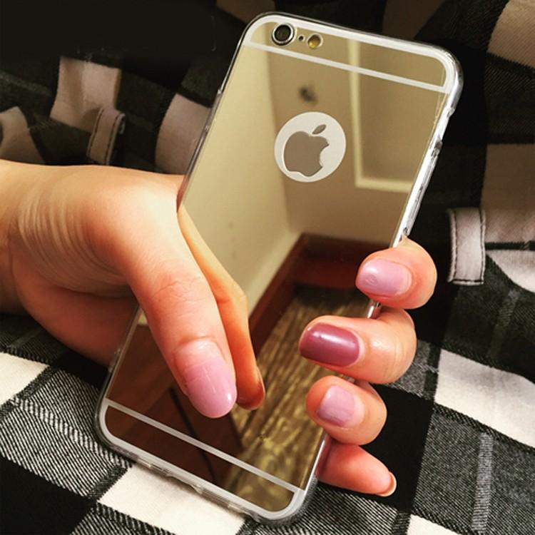 Luxusní kryt pro iPhone 5 / 5S / SE - Mirrori Barva: Zlatý - iPhone 5