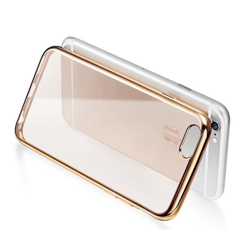 Kryt Silic Shield pro iPhone 5 / 5S / SE Barva: Zlatý