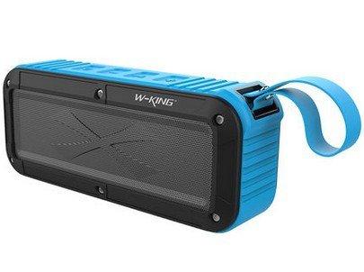 Bezdrátový voděodolný Bluetooth reproduktor s NFC W-King™ Max Barva: Modrý