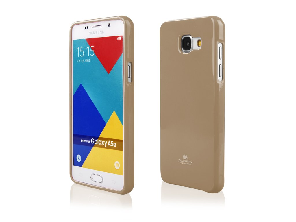 Zlatý obal Mercury Jelly pro Samsung Galaxy A5 (2016)