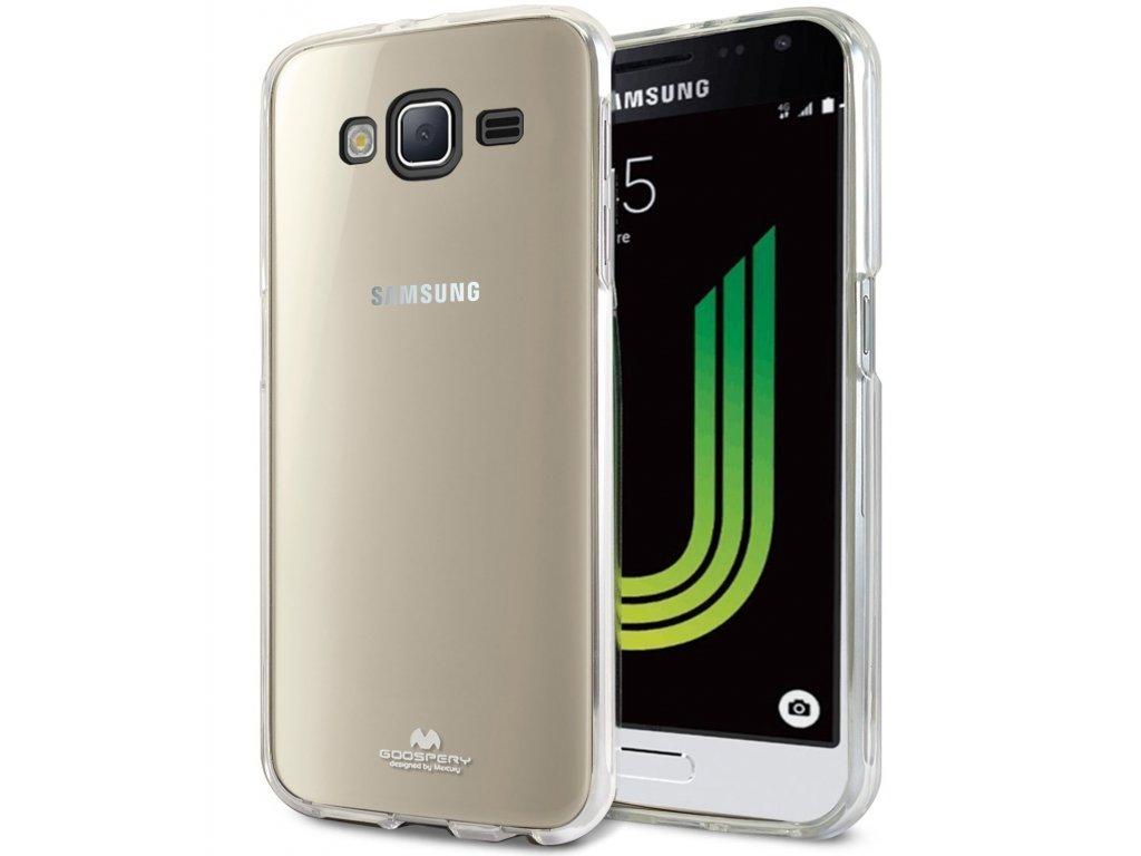 Průhledný obal Mercury Jelly pro Samsung Galaxy J3 (2016)