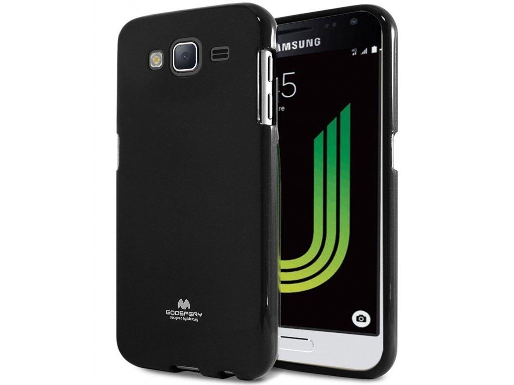 Černý obal Mercury Jelly pro Samsung Galaxy J5 (2016)