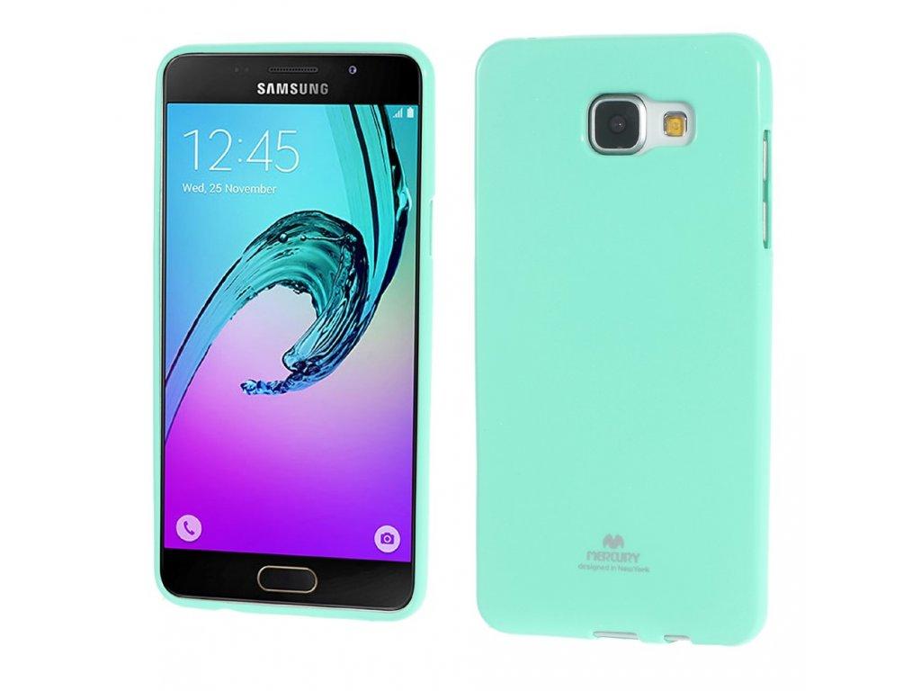 Tyrkysový obal Mercury Jelly pro Samsung Galaxy A5 (2016)