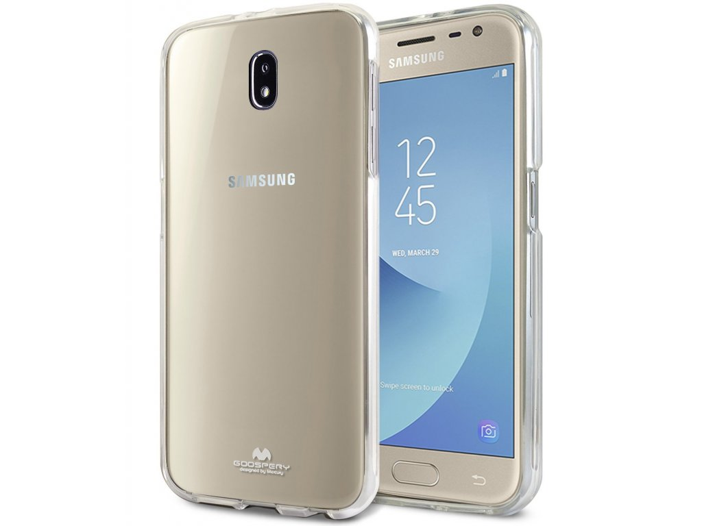 Průhledný obal Mercury Jelly pro Samsung Galaxy J7 (2017)