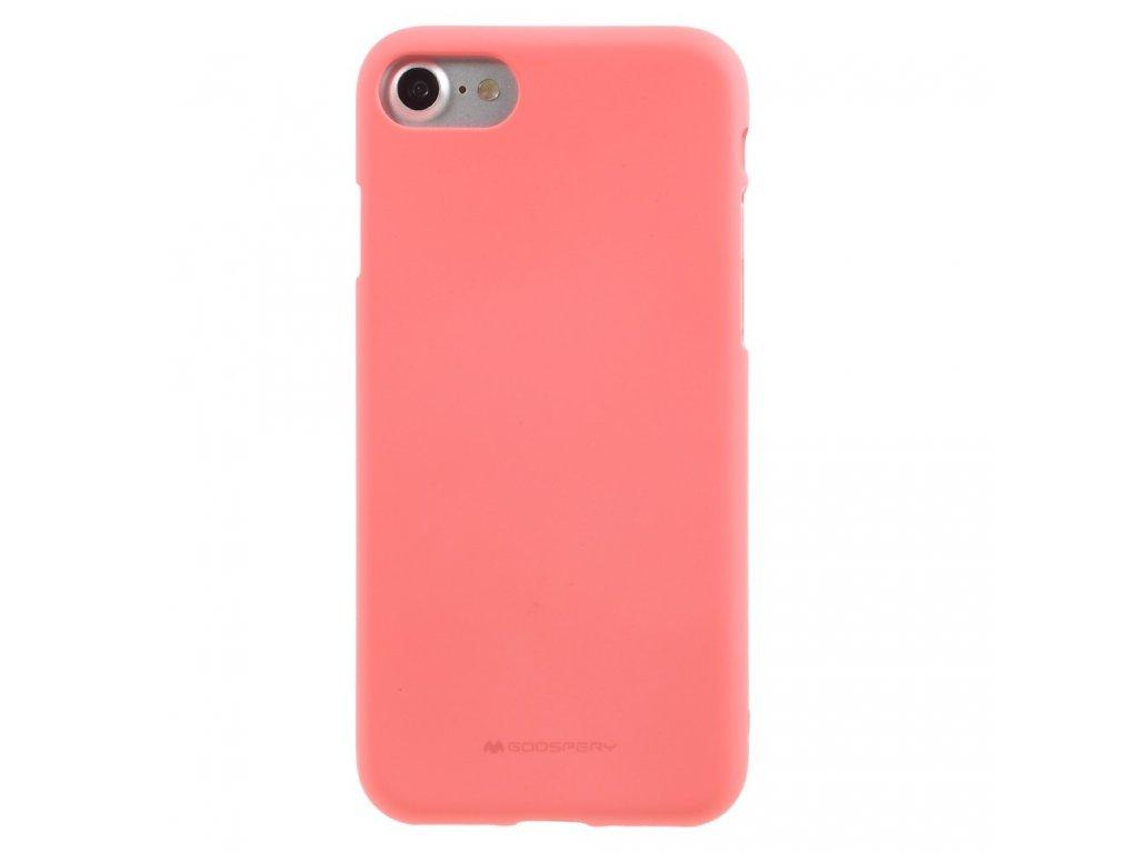 Růžový obal Mercury Soft Feeling pro iPhone 6 Plus / 6s Plus