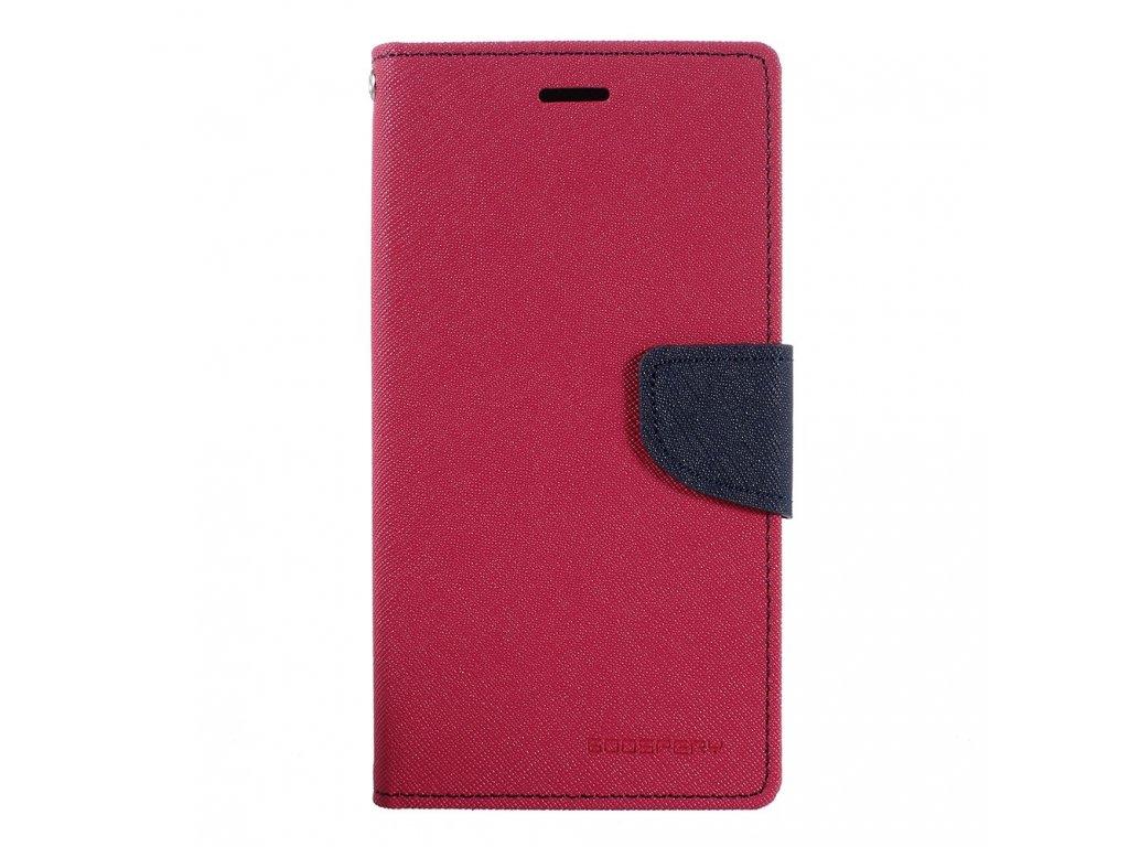Růžové flipové pouzdro Mercury Fancy Diary pro Samsung Galaxy J3 (2017)