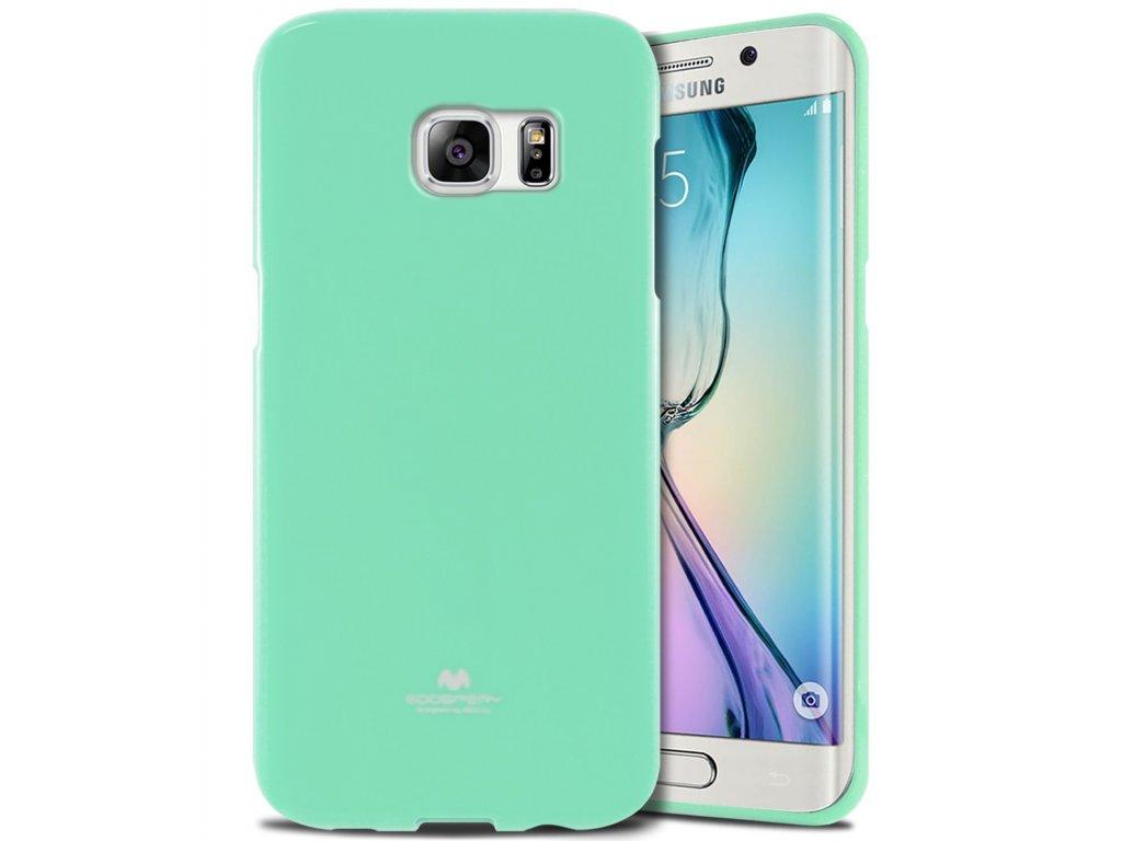Tyrkysový obal Mercury Jelly pro Samsung Galaxy S6 EDGE