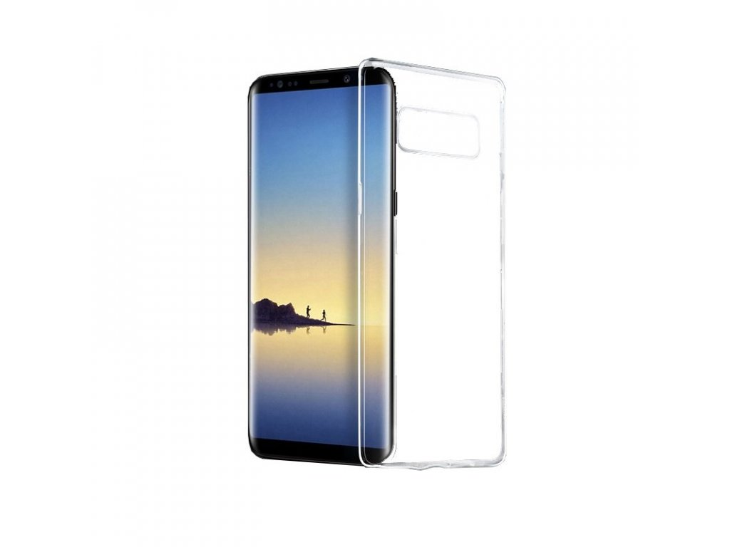 hoco light series tpu case for samsung galaxy note 8 transparent krytnamobil cz1
