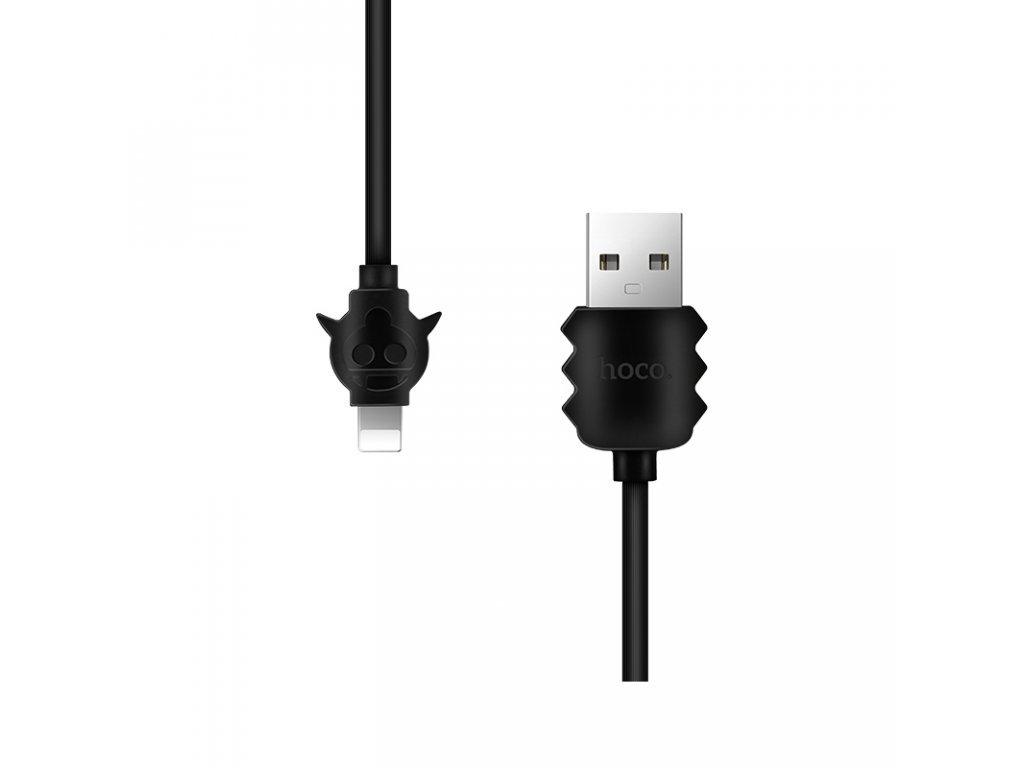 2904 1 kabel lightning pro iphone a ipad hoco x16 elfin black