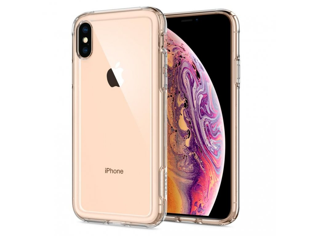 pouzdro SPIGEN CRYSTAL HYBRID IPHONE XS MAX CRYSTAL CLEAR