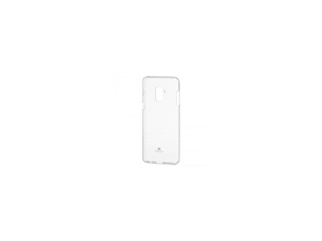 Průhledný obal Mercury Jelly  pro Samsung Galaxy A6 Plus(2018)