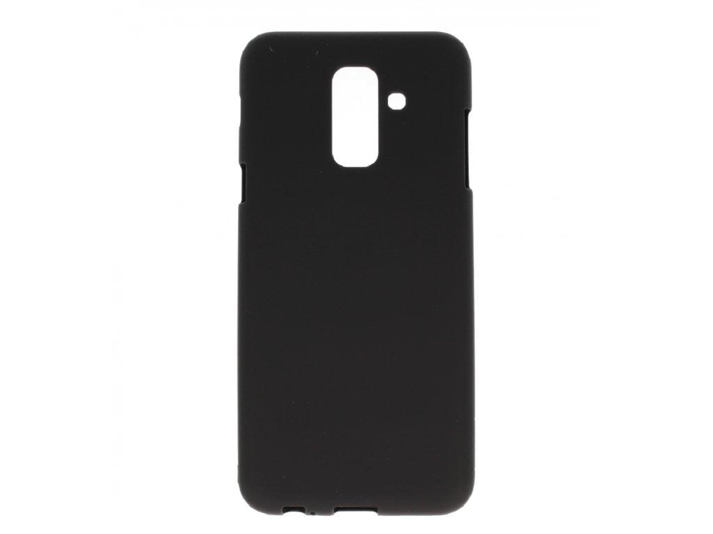 Černý obal Mercury Soft Feeling pro Samsung Galaxy A6 Plus (2018)