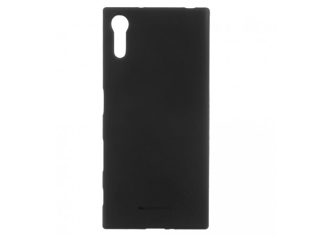 Černý obal Mercury Soft Feeling pro Samsung Galaxy A9 (2018)