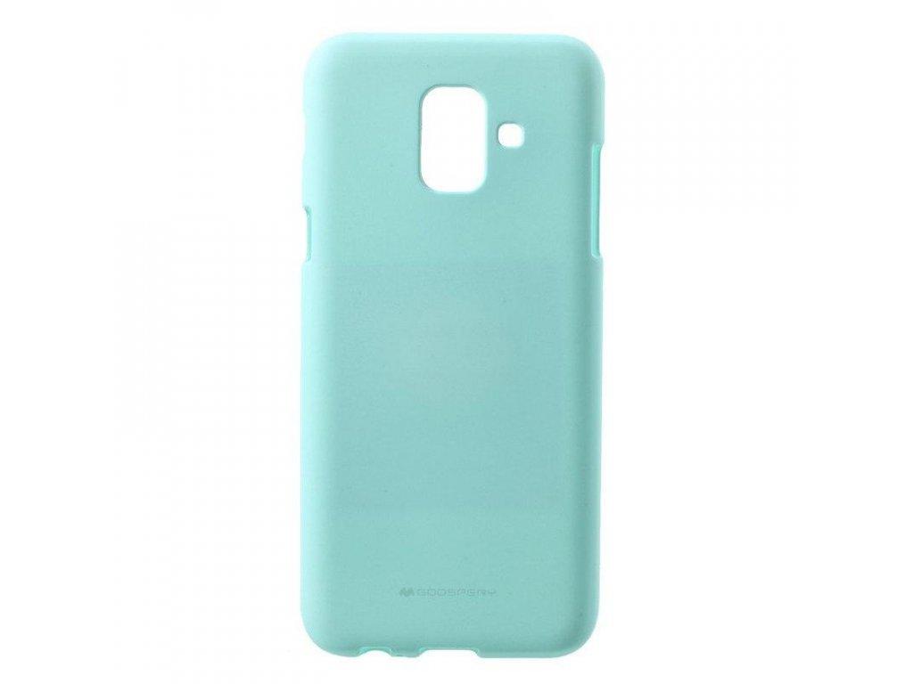 Tyrkysový obal Mercury pro Samsung Galaxy A9 (2018)