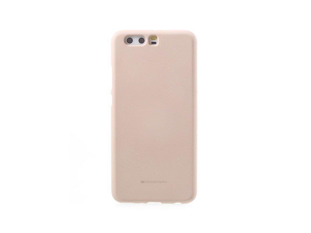 Béžový obal Mercury Soft Feeling pro Samsung Galaxy A9 (2018)
