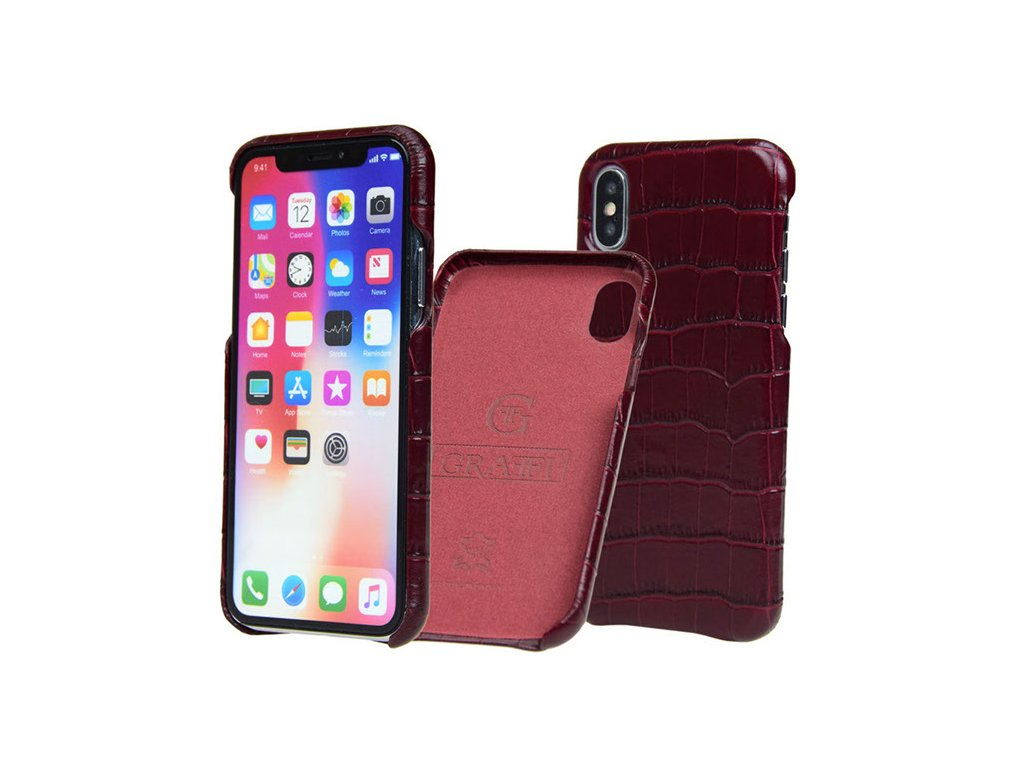 cover crocco bordeaux carastyle iphone x xs krytnamobil.cz