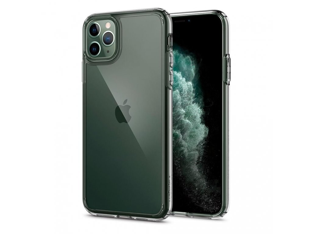Průhledný obal Spigen Crystal Clear pro iPhone 11 PRO MAX