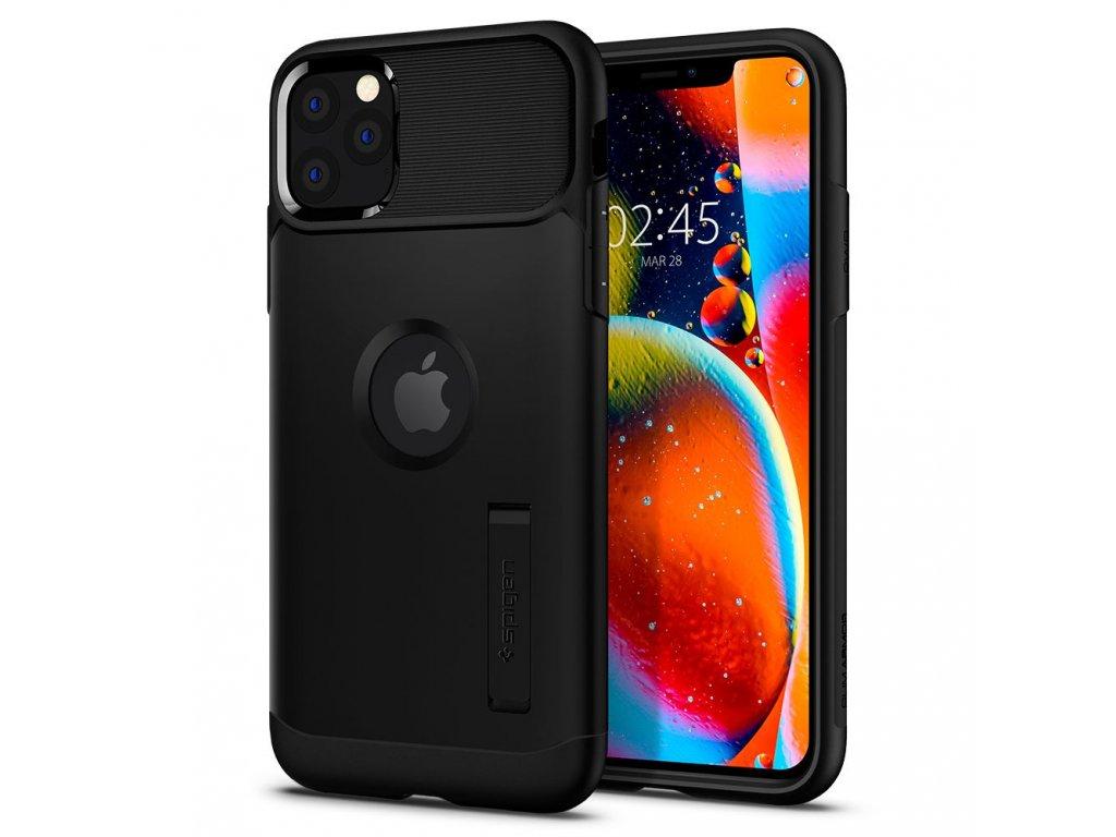 Černý obal Spigen Slim Armor pro iPhone 11 PRO MAX