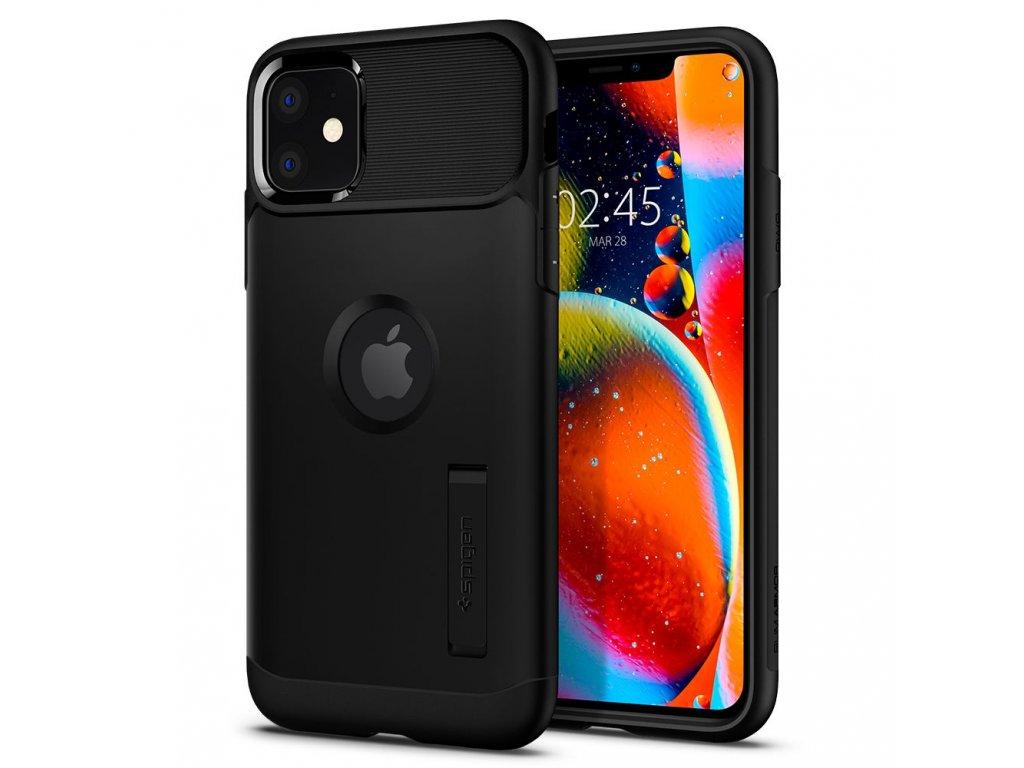 Černý obal Spigen Slim Armor pro iPhone 11