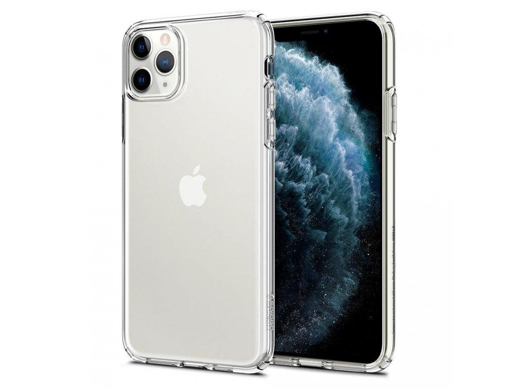 Průhledný obal Spigen Crystal Clear pro iPhone 11 PRO