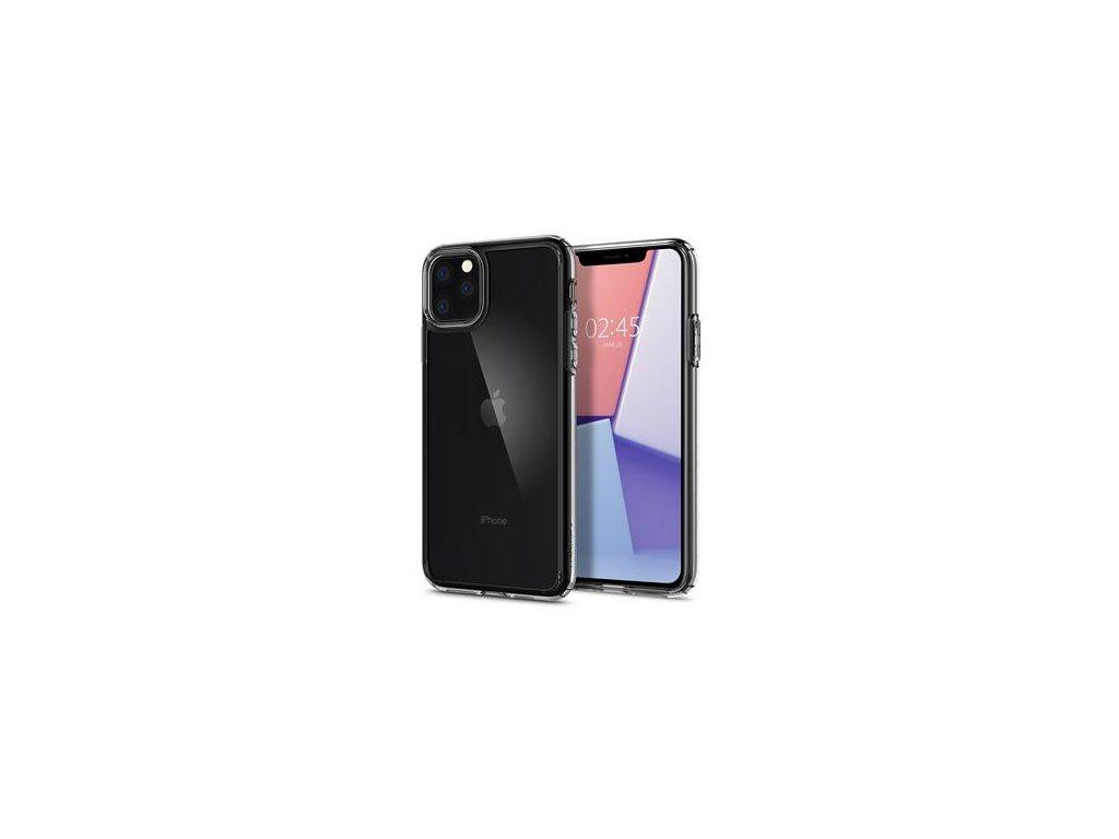 Průhledný obal Spigen Crystal Hybrid pro iPhone 11 PRO MAX