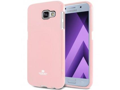 Růžový obal Mercury Jelly pro Samsung Galaxy A3 (2017)