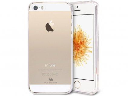 Průhledný obal Mercury Jelly pro iPhone 5/5S/5SE