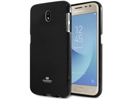 Černý obal Mercury Jelly pro Samsung Galaxy J7 (2017)