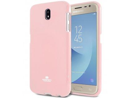Růžový obal Mercury Jelly pro Samsung Galaxy J7 (2017)
