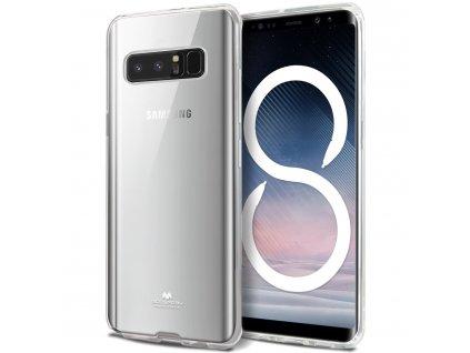 Průhledný obal Mercury pro Samsung Galaxy Note 8