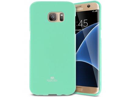 Tyrkysový obal Mercury Jelly pro Samsung Galaxy S7 EDGE