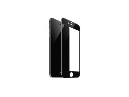 25962 cerne ochranne tvrzene sklo pro iphone 7 plus 8 plus hoco shatterproof 3d