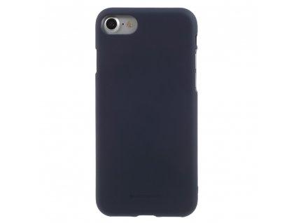 Modrý obal Mercury Soft Feeling pro iPhone 7 / 8 / SE (2020)