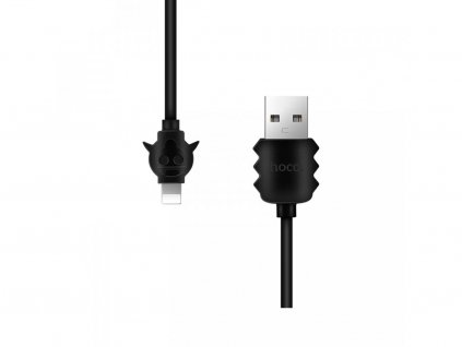 2904 1 kabel lightning pro iphone a ipad hoco x16 elfin black