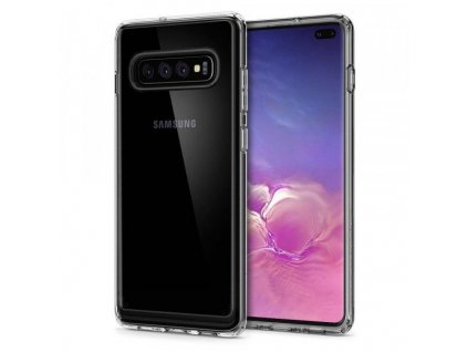 pouzdro SPIGEN ULTRA HYBRID GALAXY S10 Plus CRYSTAL CLEAR